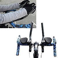 Велосипед горный велосипед дороги разделены TT сплава пвх остальные ручки бар релаксации вице-руль