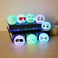 8шт выражение лампа коробка красочный набор творческий украшение