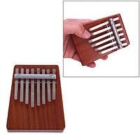 8 ключ палец Mbira калимба likembe африканского большого пальца перчатки пианино