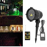 Водонепроницаемая г & г лазерный дистанционный LED на открытом воздухе проектор пейзаж свет для декора сада домой партии