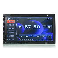 7-дюймовый двойной din автомобиль dvd/usb/sd-плеер bluetooth радио aux hd Камера сенсорный экран