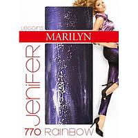 Леггинсы MARILYN JEN RAINBOW 770, Польша, размеры S/M , M/L S/M фиолетовый