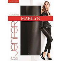 Легінси жіночі MARILYN JENIFER C25 180ден, розмір С\М, колір - чорно-сірий, фото 1