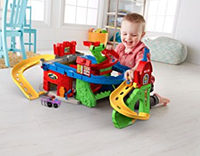 Трек 2 в 1  Fisher-Price Little People Sit 'n Stand Skyway