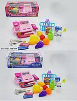 """Детский кассовый аппарат игрушка касса супермаркета """"Pony""""Frozen"""" DN861PO-1/FZ-1  2 вида, свет-звук, калькулятор, сканер, весы в коробке 37*16*13"""