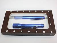 """Набор подарочный 2539 """"Ручка + фонарик"""""""