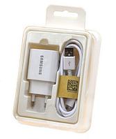 Сетевое зарядное устройство СЗУ Samsung 2в1 Fast Charging Micro 2A белый