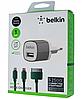 Сетевое зарядное устройство СЗУ Belkin 2 in 1 (1 USB / 1A) Micro черный