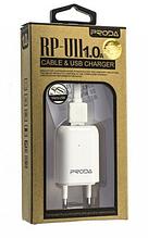 Сетевое зарядное устройство СЗУ REMAX PRODA RP-U11 (1A) + кабель apple белый