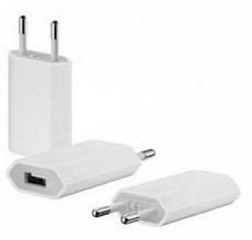 Адаптер СЗУ 9600 1 USB 1A (без упаковки) белый