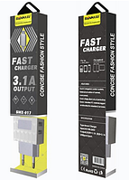 Сетевое зарядное устройство СЗУ SENMAXU 2в1 Micro SMX-017 (2 USB/2.1A), фото 1