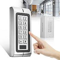K2 водонепроницаемая клавиатура пароля для чтения карт входной двери Система контроля доступа замок