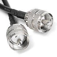 1шт УВЧ PL259 мужчина Штекер коаксиальный кабель коаксиальный 20 дюймов 50cm RG58 припаяны