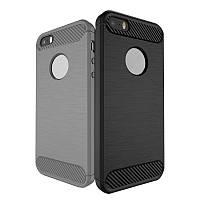 Bakeey 1,5 мм толщина углеродного волокна TPU Чехол для iPhone 5 5S SE