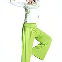 Наборы леди спортивный фитнес комплект одежды топы и свободные брюки Yoga женщины фитнес