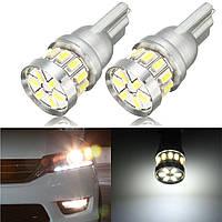 LED Лампы полосы света вздутие яркий белый 6000К на 2013 - 2015 годы ACCORD T10 пара
