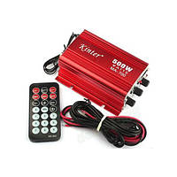 DC12V 500W kinter ма- 700 мини- FM-радио усилитель мощности TF карта с дистанционным управлением
