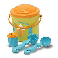 Набор для приготовления песочного мороженого / Speck Seahorse Sand Ice Cream Set ТМ Melissa & Doug MD6433