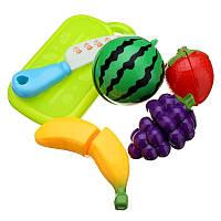 6шт весело вырезать фрукты кухонные дети режущие части ролевые игры дом игрушки