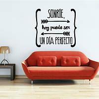55x50см испанский цитатой плакат стены стикеры птицы Буквенные наклейки для стен украшения дома
