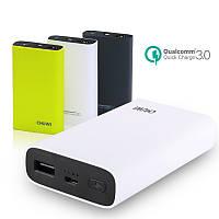 [Qualcomm Certified CHUWI 10050mAh 18W Двухсторонняя операционная система QC3.0 Power Bank для Apple Android