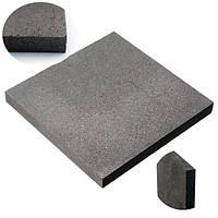 100x100x10mm высокой чистоты графитовый лист графитовой пластины