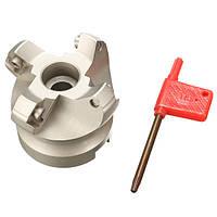 Drillpro KM12 50-22-4F 4 Фрезы Фрезерные фрезы 45 градусов Токарный инструмент для SEKT1204 Вставка