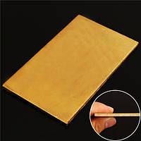 3mmx60mmx100mm латунь листовая пластина промышленности поделки эксперимент лист