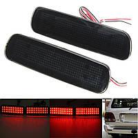 Пара задний бампер LED тормоз задний фонарь отражатель противотуманная фара для Toyota Land Cruiser LEXUS LX470