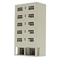 1/87 модели железной дороги современный 6-этажный бизнес-офис п шкала для песочницы