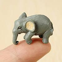 Крошечные д 2.8cm слон мини-орнамент статьи обеспечения