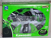 N.R.Мотоцикл сборка (1:12) KAWASAKI