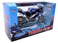Welly. Мотоцикл металл 1:10 YAMAHA 2008 YZF-R1 /12/