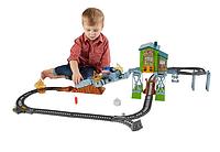 Железная дорога Спасательный Паровозик Томас и Друзья Fisher-Price Thomas & Friends Rescue Train Set, фото 1