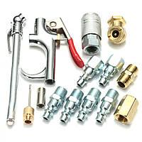 14Pcs Air Инструмент Компрессорный пневматический аксессуар для пневматического аксессуара компрессора Набор