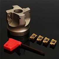 БАТ 400р-50-22-4f резак индексируемая торец фрезы с гаечным ключом и 4шт apmt1604 карбида iinserts