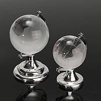 Хрустальное стекло матовое глобус украшение папье бюро