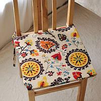 40x40см богемы стиль губки хлопок белье офис домашний стул подушки сиденья коврик домашний декор