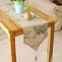 Англии стиль хлопок белье посуда коврик бегун стол скатерть бюро крышка изоляции чаши тепла площадку