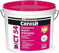 Краска фасадная Ceresit CT 54 10 л