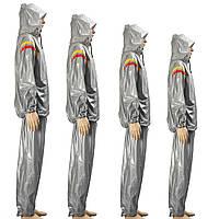 Одежда с капюшоном потеря веса Фитнес Сауна Тренировочный костюм Толстовка с капюшоном упражнение Спортзал виды спорта Тонкий костюм