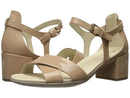 Сандали/Вьетнамки (Оригинал) ECCO Shape 35 Block Sandal Ginger Patent/Cow Leather, фото 2