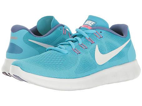 Кроссовки/Кеды (Оригинал) Nike Free RN 2017 Chlorine Blue/Off-White/Polarized Blue, фото 2