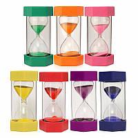 Новые 15 минут Пластмассовая рамка Песочное стекло Песочное стекло Песочные часы Таймер Часы Декор