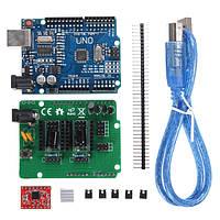 Geekcreit® UNO R3 Совет ZUM Scan Щит расширения Open Source Kit для DIY Ciclop 3D принтер сканер