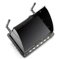 Skyzone HD02 40ch 5.8G 7 дюймовый 1024x600 HD FPV монитор HDMI с / без DVR встроенной батареей