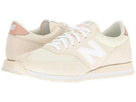 Кроссовки/Кеды (Оригинал) New Balance Classics CW620 White Asparagus/Pink, фото 2