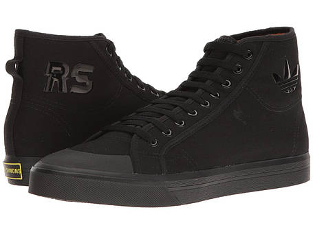 Кроссовки/Кеды (Оригинал) adidas by Raf Simons Raf Simons Spirit High Core Black/Core Black/Bright Yellow, фото 2