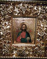 Икона Спас Господь Вседержитель  19 век
