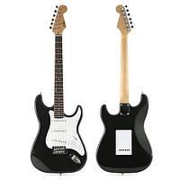 Zebra ™ ST-02 ST Тип Твердый тополь электрическая гитара с Gig Bag